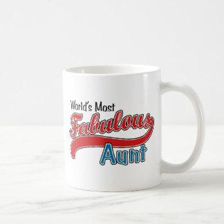 La tía más fabulosa del mundo tazas de café