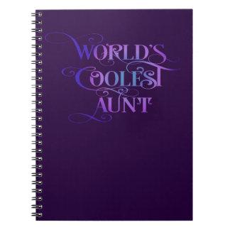 La tía más fresca del mundo libros de apuntes con espiral