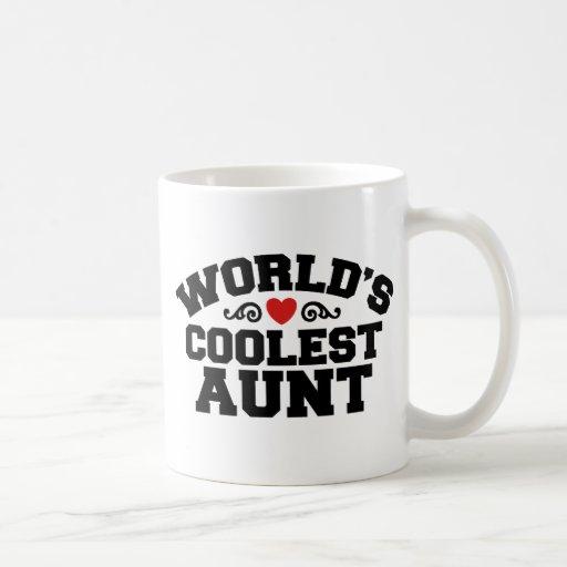 La tía más fresca del mundo tazas