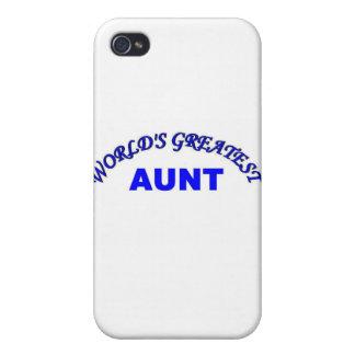 La tía más grande del mundo iPhone 4 carcasa