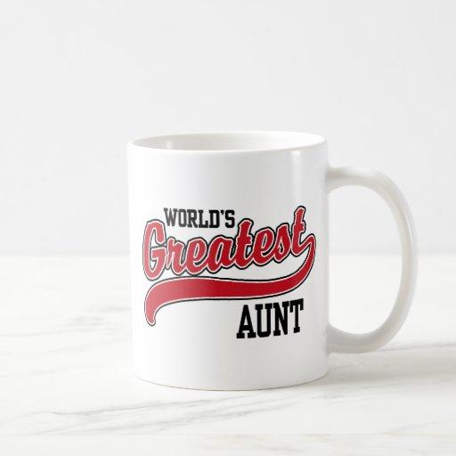 La tía más grande del mundo taza de café