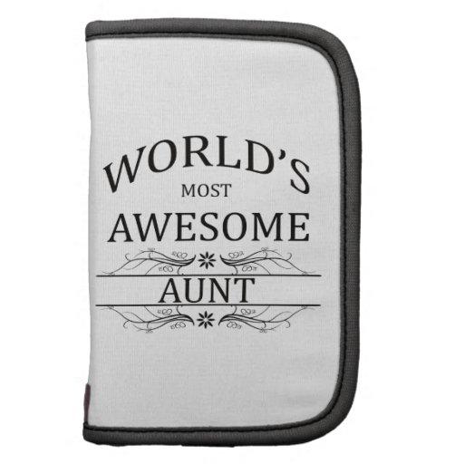La tía más impresionante del mundo planificador