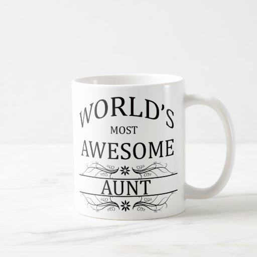 La tía más impresionante del mundo taza