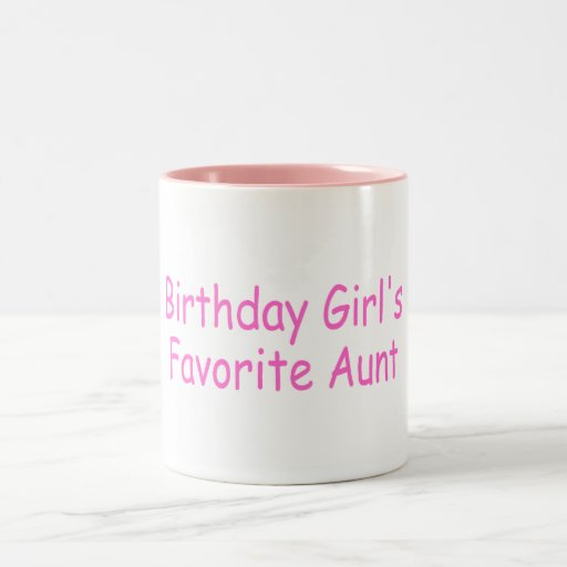 La tía preferida del chica del cumpleaños taza de café