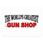 La tienda de armas más grande del mundo tarjeta postal