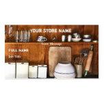 La tienda del vintage/cuece tarjetas de visita de