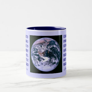 La tierra proporciona la taza
