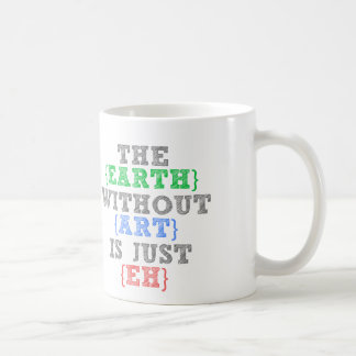 La tierra sin arte está apenas Eh Taza De Café