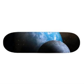 La tierra y la luna patines personalizados