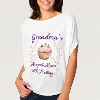 La tipografía que hiela de la abuela camiseta