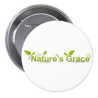 La tolerancia de la naturaleza con la mariquita chapa redonda de 7 cm