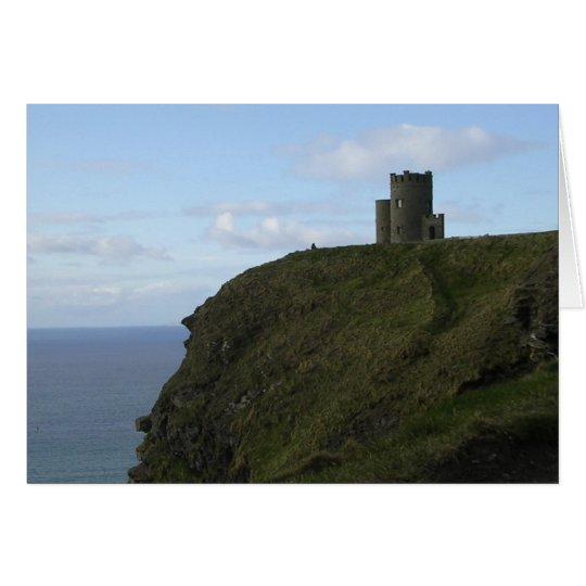 La torre de O'Brien Tarjeta De Felicitación