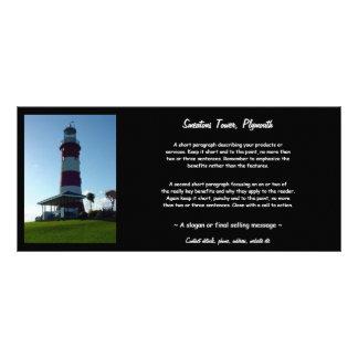 La torre de Smeaton, azada de Plymouth Lona Personalizada
