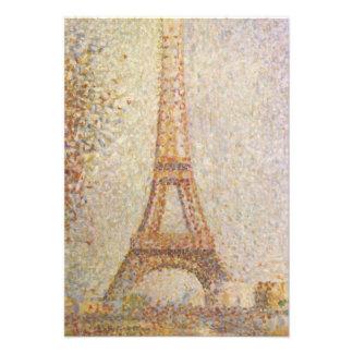 La torre Eiffel de Jorte Seurat Comunicados Personales