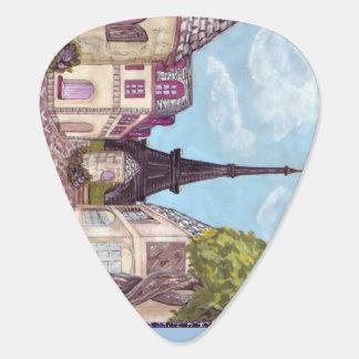 La torre Eiffel de París inspiró la púa de