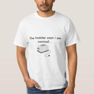 La tostadora dice… camiseta
