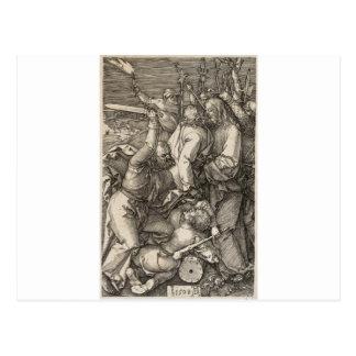 La traición de Cristo circa 1508 Postal