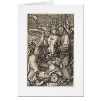La traición de Cristo circa 1508 Tarjeta De Felicitación