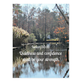 La tranquilidad y la confianza del 30:15 de Isaías Postal