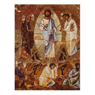 La transfiguración de Cristo en monte Sinaí Postal
