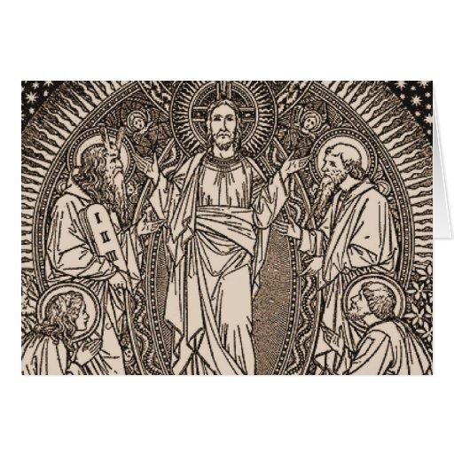 La transfiguración de nuestro señor Jesucristo Felicitación