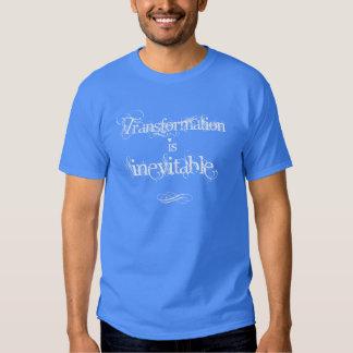 La transformación es la camiseta de los hombres