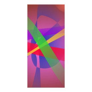 La travesía alinea el arte abstracto de Brown Lonas Personalizadas