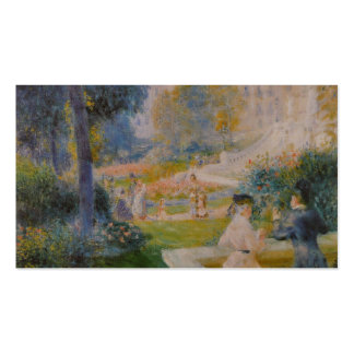 La Trinité - Pedro Auguste Renoir de Le Square de Tarjetas De Visita