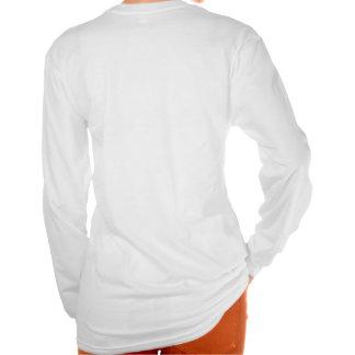 La turquesa guarda calma y continúa camisetas