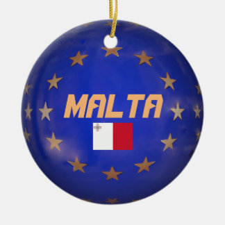 La UE de Malta señala el ornamento de encargo del