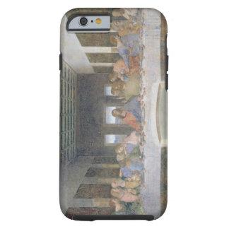 La última cena, 1495-97 (fresco) funda de iPhone 6 tough