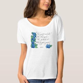 La última tipografía inspirada de la cita camiseta
