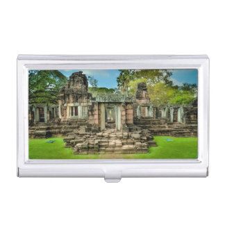 La UNESCO de Camboya del templo de Angkor Wat Cajas De Tarjetas De Negocios