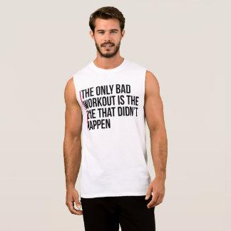 La única mala cita del gimnasio del entrenamiento camiseta sin mangas