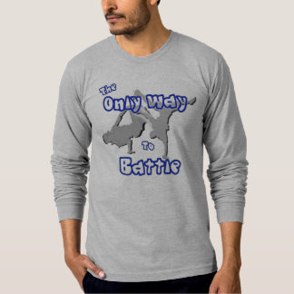 La única manera de luchar camiseta