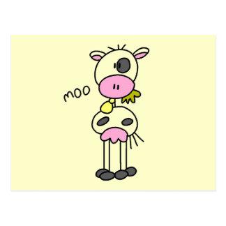 La vaca dice las camisetas y los regalos del MOO Postal