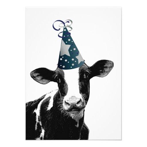 ¡La vaca quiere ir de fiesta! Anuncios