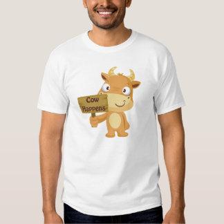 La vaca sucede camisetas
