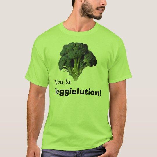 ¡La Veggielution de Viva! Camiseta