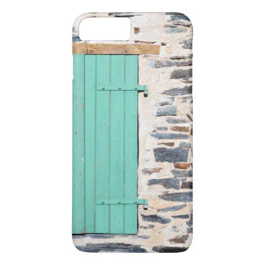La ventana Shutters en un caso rústico del iPhone Funda Para iPhone 8 Plus/7 Plus