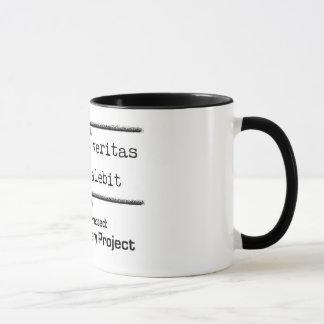 La verdad es poderosa y prevalecerá taza de café