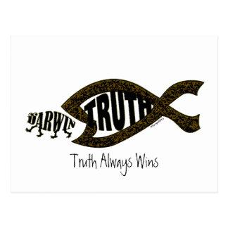 La verdad gana otra vez postal