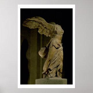 La victoria de Samothrace (mármol de Parian) (véas Póster