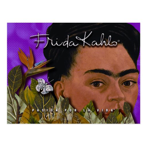 La Vida 2 de Frida Kahlo Pasion Por Postal