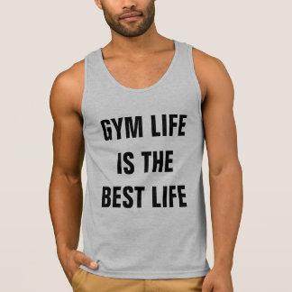 La vida del gimnasio es las mejores camisetas sin