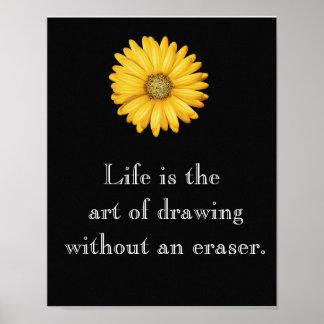 La vida es arte --- Poster del arte