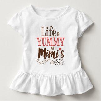 La vida es deliciosa en la camiseta de Mimi