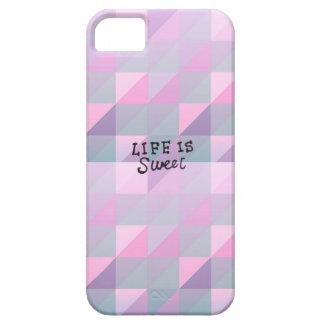 La vida es dulce funda para iPhone SE/5/5s