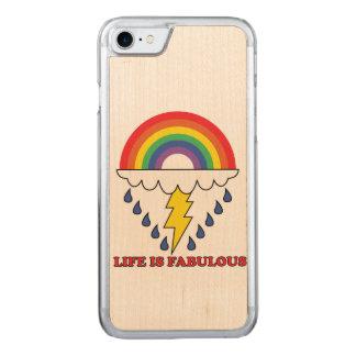 La vida es fabulosa funda para iPhone 8/7 de carved