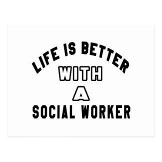 La vida es mejor con un trabajador social postal